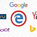 Как изменить поиск по умолчанию в Microsoft Edge (Google, Yandex, Mail, Rambler, Yahoo)
